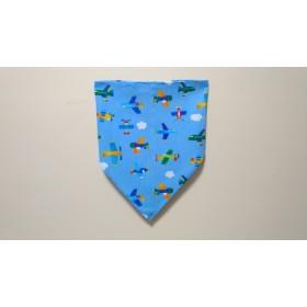 《ご予約済み》ゴム入 子供用三角巾 飛行機