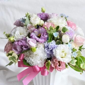 【生花】フラワーアレンジメント ふわりパステル