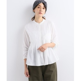 journal standard luxe 【Khadi & Co/カディ&コー】 tuck blouse ホワイト M