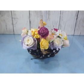 ブリザーブドフラワー・花かご