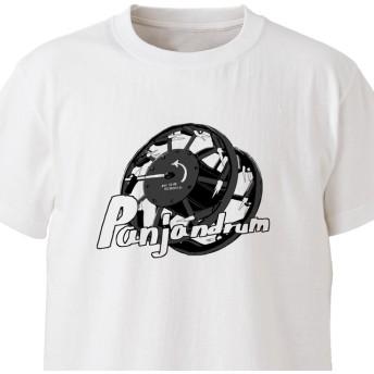 【MEN'S EKOT】パンジャンドラム(発射)【ホワイト】ekot Tシャツ 5.6オンスイラスト:OBOtto>