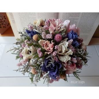 atelier blugra八ヶ岳〜アイアン脚付FlowerBasket03