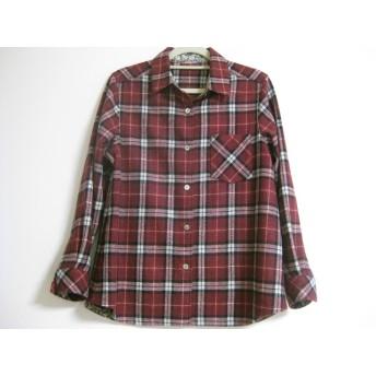 ウールのチェックシャツ