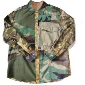 HAND MADE Military Shirts 003 L ハンドメイド ミリタリー シャツ