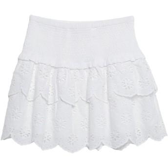 《セール開催中》MICHAEL MICHAEL KORS レディース ミニスカート ホワイト XS コットン 100%