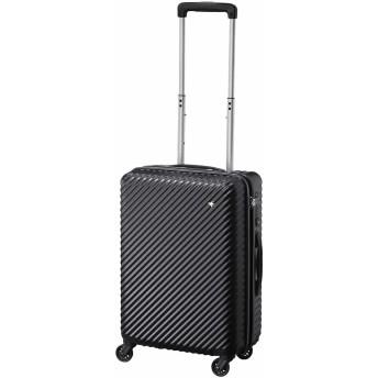 【オンワード】 ACE BAGS & LUGGAGE(エースバッグズアンドラゲージ) ≪HaNT/ハント≫マイン スーツケース 1-2泊用 33L 機内持込 05745 ブラック F レディース 【送料無料】