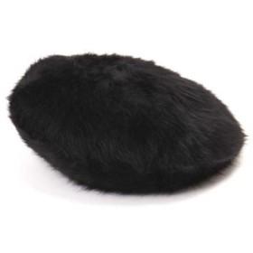 [マルイ]【セール】ロゴ刺しゅうファーベレー帽/ローズバッド(ROSE BUD)