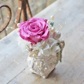 Wedding pitcher white S