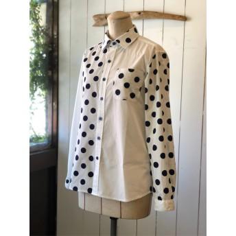 パネルドットのシャツ(Men's)(Lady's)