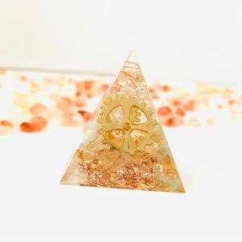 目標達成 ピラミッドオルゴナイト