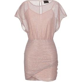 《セール開催中》ATOS LOMBARDINI レディース ミニワンピース&ドレス ピンク 40 ポリエステル 55% / 金属 45%