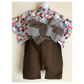 男の子baby袴浴衣セット