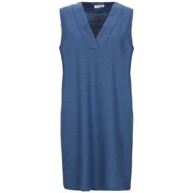 《セール開催中》GRAN SASSO レディース ミニワンピース&ドレス ブルー 42 コットン 94% / ナイロン 6%