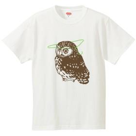 ハンガー反射フクロウTシャツ