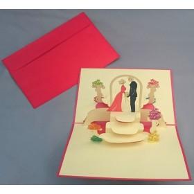メッセージカードLOVE バレンタイン ウエディング 結婚式