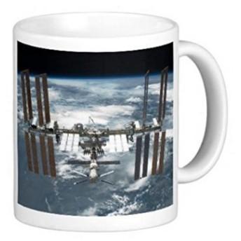 国際宇宙ステーション(ISS)のマグカップ:フォトマグ(宇宙シリーズ) (B)