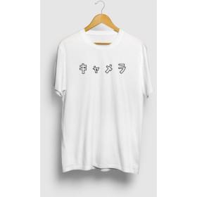 キャメラ 癖のある言い方シリーズ カメラロゴTシャツ