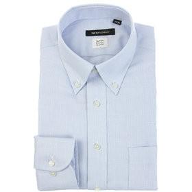 【SALE開催中】【THE SUIT COMPANY:トップス】【SUPER EASY CARE】ボタンダウンカラードレスシャツ 織柄 〔EC・BASIC〕