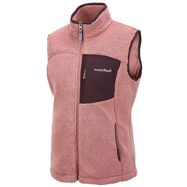 [モンベル] Mont-bell Women`s WHITNEY Vest Down Jacket レディースダウンベスト ダウンジャケット Light Coral ML3BWWVW242 [並行輸入品](Light Coral, 90(S))
