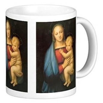 ラファエロ・サンティ『 大公の聖母 』のマグカップ:フォトマグ(世界の名画シリーズ)