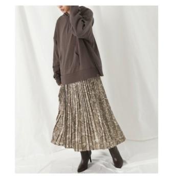 ANAP(アナップ)パイソンプリントプリーツスカート