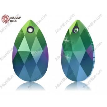 【スワロフスキー#6106】144粒 Pear-shaped ペンダント 16mm クリスタル スカラベ グリーン (001SCGR)