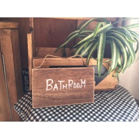 バスルーム プレート