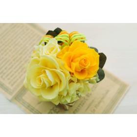 プリザーブドフラワーアレンジメント Mignon~Yellow~