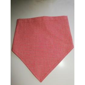 三角巾(赤ギンガムチェック)