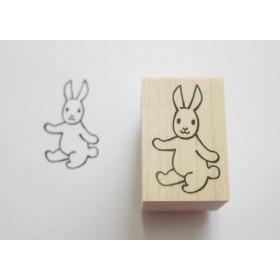 スタンプ/ゴム印/はんこ 「ごきげんウサギ」