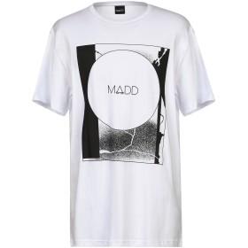 《セール開催中》MADD メンズ T シャツ ホワイト XXL コットン 100%