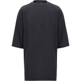 《期間限定セール開催中!》RICK OWENS メンズ T シャツ ダークブルー M コットン 100%