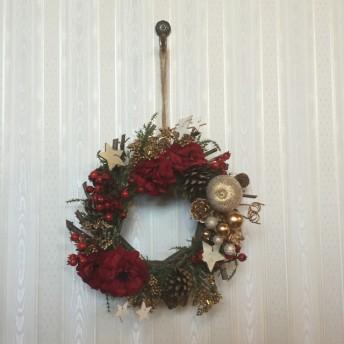 クリスマスにお家に飾るインテリア クリスマスリース