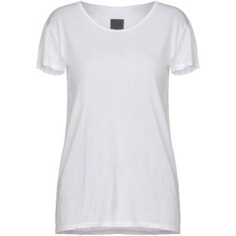《セール開催中》RTA レディース T シャツ ホワイト S コットン 95% / カシミヤ 5%