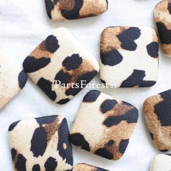 [4pieces] Leopard Cabochon No.440