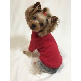 ニコちゃんハイネックTシャツ(赤)