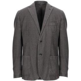 《期間限定セール開催中!》LUIGI BIANCHI Mantova メンズ テーラードジャケット 鉛色 56 バージンウール 67% / ポリエステル 23% / ナイロン 10%