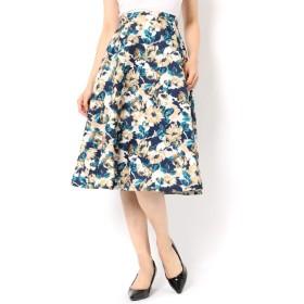 【アンドクチュール/And Couture】 3D花柄スカート 70㎝丈