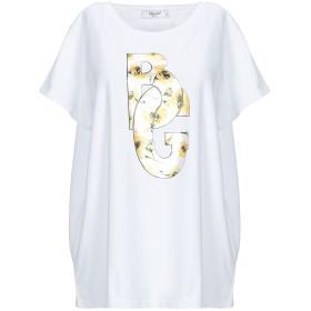 《期間限定セール開催中!》BLUGIRL BLUMARINE レディース T シャツ ホワイト 40 コットン 96% / ポリウレタン 4%