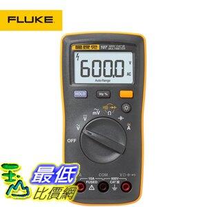 [玉山最低比價網] 美國FULUKE/福祿克 F107 新型數位萬能表掌型三位半原裝正品