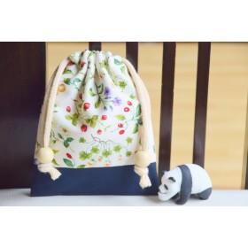 花と森の植物 つみつみ巾着袋