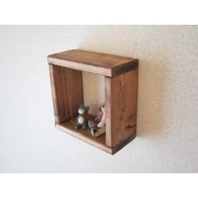 木の壁掛け棚(小)