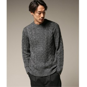 [マルイ]【セール】メンズセーター(カシミヤMIXアランクルーネック)/417エディフィス(417 EDIFICE)