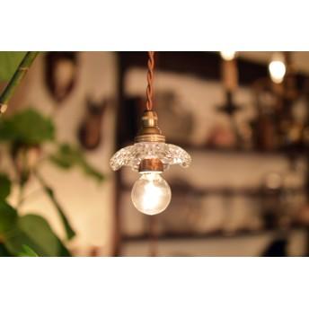 フランスアンティークペンダント照明『エンジェルランプ』