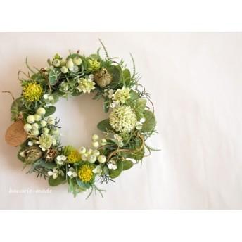 イガナスと枝:wreath