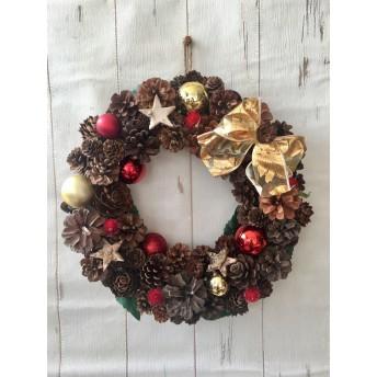 クリスマスリース merry Xmas