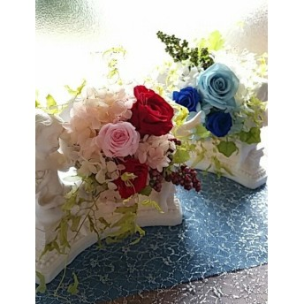 プリザーブドフラワー★エンジェルプリエール/結婚祝/出産祝/ホワイトデー/母の日/誕生日