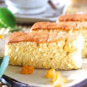 クリスマスやお歳暮ギフトにも ️グルテンフリー&白砂糖不使用♪米粉ケーキ<リコッタチーズ>