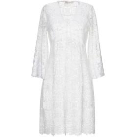 《セール開催中》VALERIE KHALFON レディース ミニワンピース&ドレス ホワイト 36 ポリエステル 100%