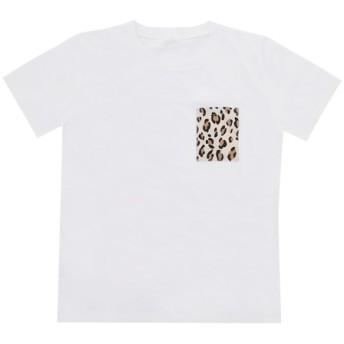 《送料無料》お値下げ*豹柄ポケットTシャツ